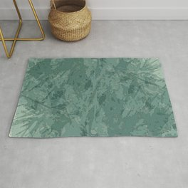 Abstract texture rock mineral design Rug