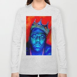 """Biggie Smalls"" Long Sleeve T-shirt"