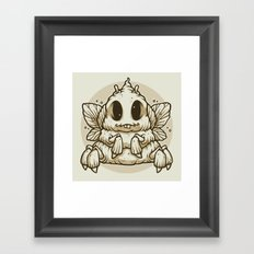 The Dung Beetle Framed Art Print