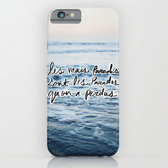 Paradis iPhone & iPod Case