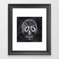 BEESKULL Framed Art Print