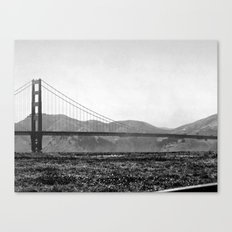 Golden San Fran Canvas Print