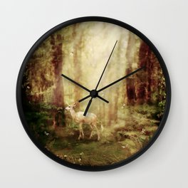 Untouched Wall Clock