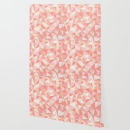 Ab Out Blush Gold Wallpaper