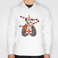 birthday Hoodies featuring Happy Birthday by Tobe Fonseca
