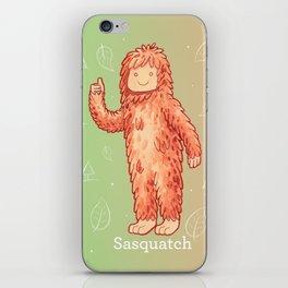 Sasquatch - Cute Cryptid iPhone Skin