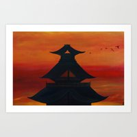 "asia Art Prints featuring ""Asia"" by Artstudiobyona"