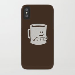 Mugged. iPhone Case