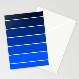Infantry Blue Ombre Stationery Cards