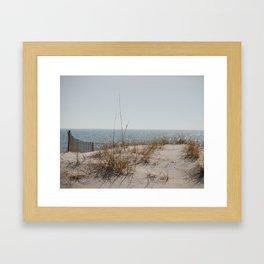 Gulf Cost Sparkle Framed Art Print
