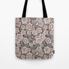 Flowers & Swallows Tote Bag