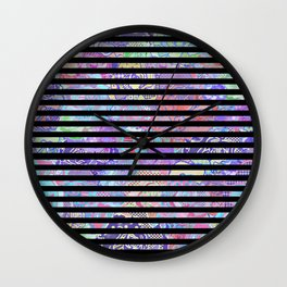 Extroversion Dye Wall Clock