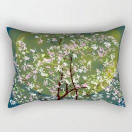 Moonlit Magnolia Rectangular Pillow