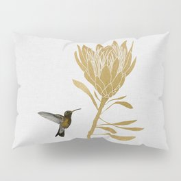 Hummingbird & Flower I Pillow Sham