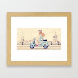 Istanbul tour Framed Art Print