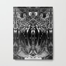 Assimilate Metal Print