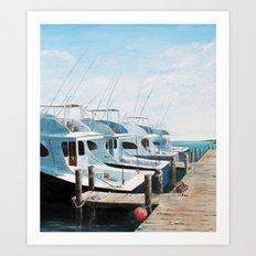 Fisherman's Dock Art Print