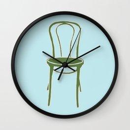 Single Chair Wall Clock