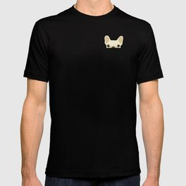 Pocket French Bulldog - Cream T-shirt