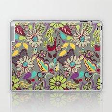 Large Bright Blooms Laptop & iPad Skin