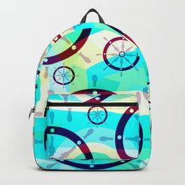 Ship wheels Backpack