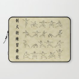 The Dancing Dragon Laptop Sleeve