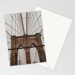 brooklyn bridge | Fine Art Travel Photography Stationery Cards