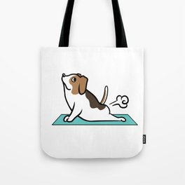 Jack Russell Terrier Yoga Pose Tote Bag