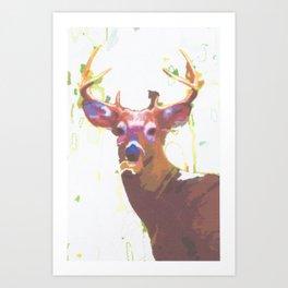 Deer 2 Art Print
