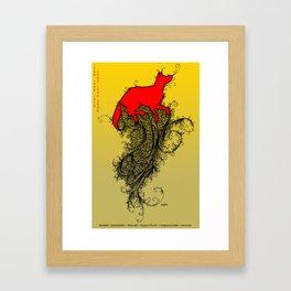 Chinese Zodiac Dog Framed Art Print