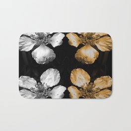 Strawberry Floral Bath Mat
