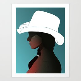 The Shade Art Print