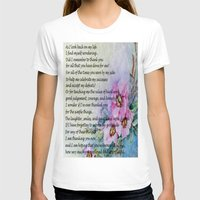 poem T-shirts featuring A Mother's Day Poem by Frankie Cat