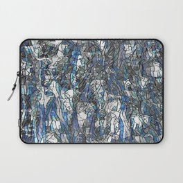 Abstract blue 2 Laptop Sleeve