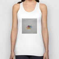 happiness Tank Tops featuring Happiness by Michael Creese