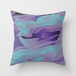 Nightly Mirage Throw Pillow