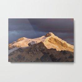 Nevado Ishinca Metal Print