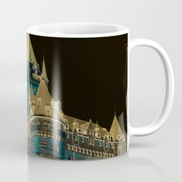 inverted Chateau Frontenac Coffee Mug