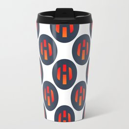 Heat Ledger - Crypto Fashion Art (Large) Travel Mug
