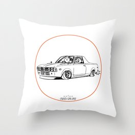 Crazy Car Art 0212 Throw Pillow