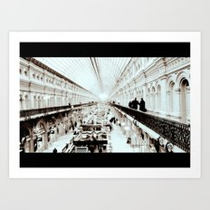 Moscow moment Art Print