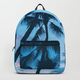 Sunset Palms Tree Backpack