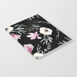 Magnolias, Eucalyptus & Anemones Notebook