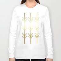 stay gold Long Sleeve T-shirts featuring stay gold by Reckless Crush