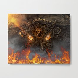 Keeper Of The Secret From Hell Metal Print