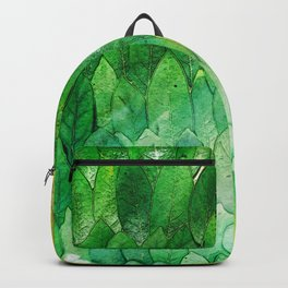 when the light hits the leaves Backpack
