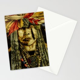 Crying Indian Stationery Cards