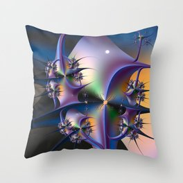 Abstract Upstairs Downstairs Balconies Throw Pillow