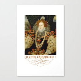 Queen Elizabeth I of England (1) Canvas Print