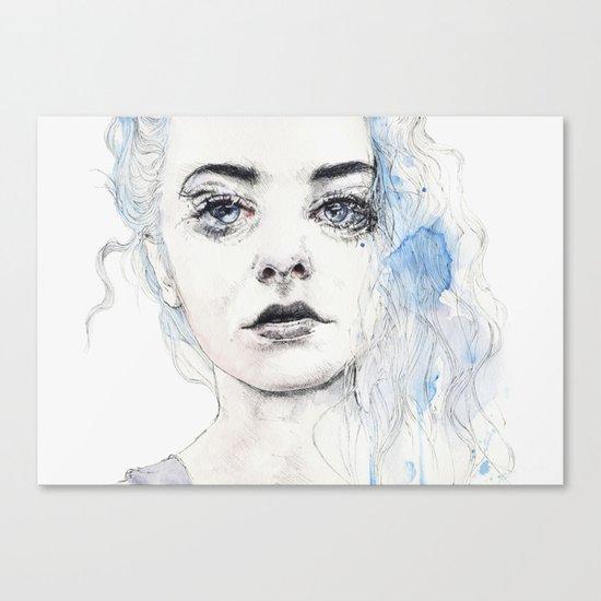 aquamarine freak Canvas Print